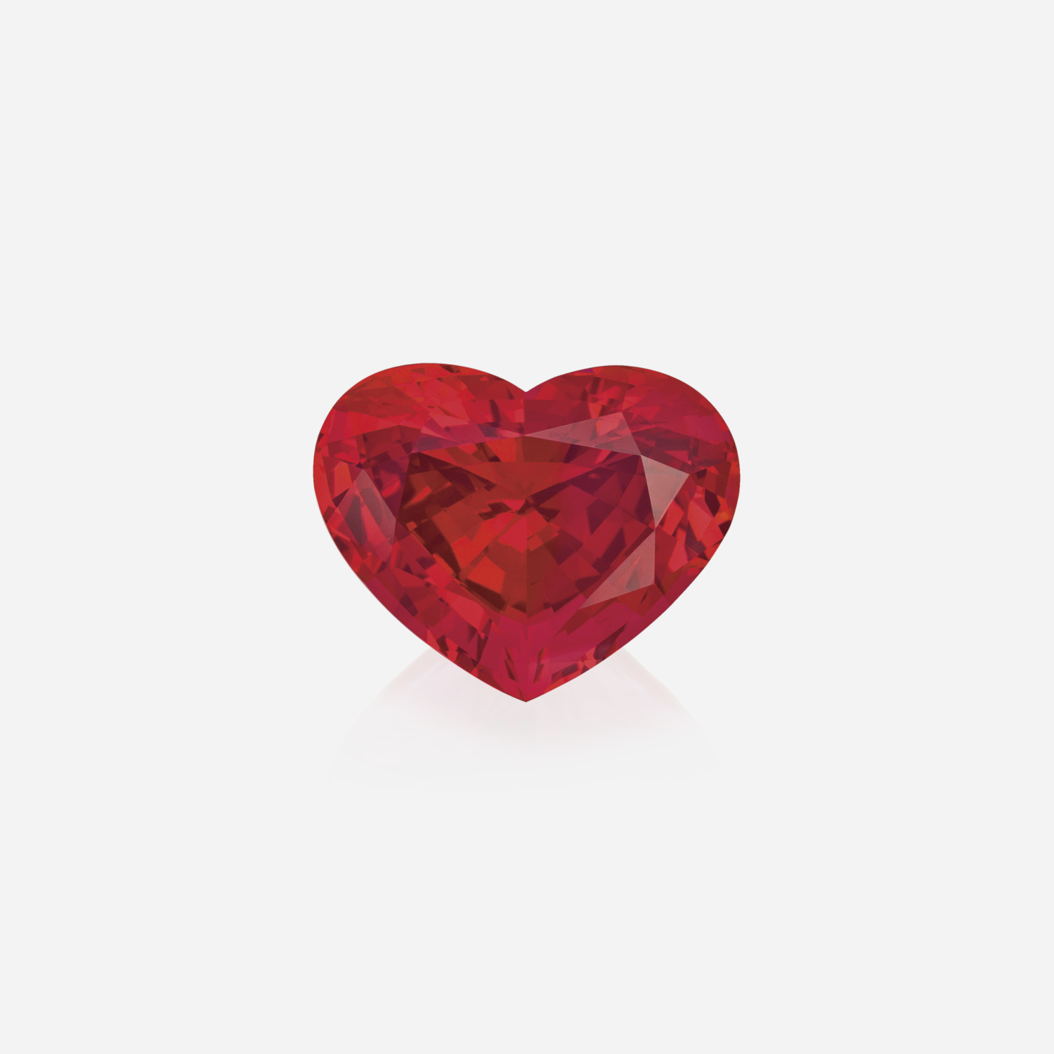 Heartshape Red Spinel 31