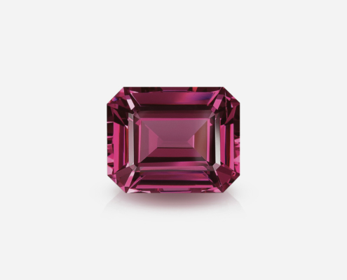 Purplish-Red Spinel 18 ct